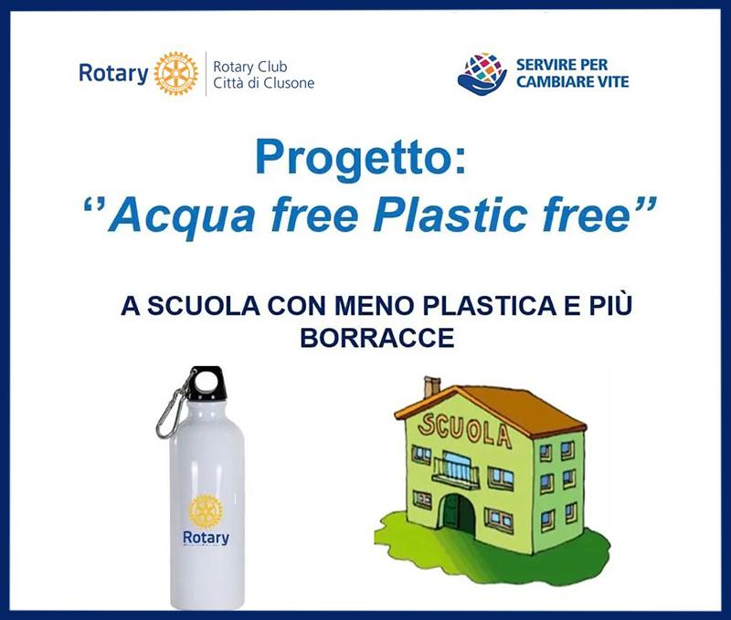 Acqua free, plastic free! @ Istituto Fantoni