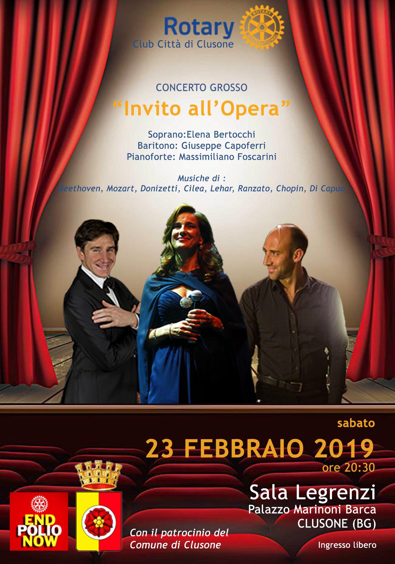 """Concerto grosso: """"Invito all'Opera"""" @ Sala Legrenzi"""